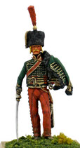 NAP Hussar in Shako on foot