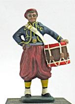 ACW C-157 Confederate Zouave Drummer