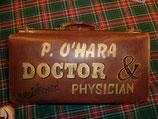 belle valise de médecin des années 40