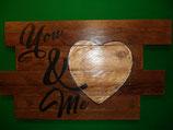 tableau en bois recyclé 45cm X 30cm