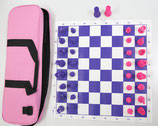 Club Chess Set Color Combo - Green & Blue/Pink & Purple