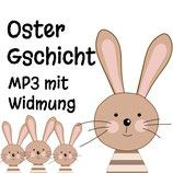 MP3 Oster-Gschicht mit persönlicher Widmung
