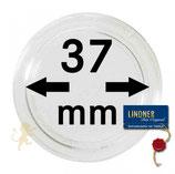 Münzkapsel Lindner 37 mm 10er -Packung