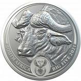 Big Five - Buffalo 2021 UN Silber