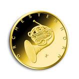 BRD 50 Euro Gold 2020 Orchesterhorn  SATZ