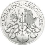 Wiener Philharmoniker  2021 Platin 31,1 Gramm
