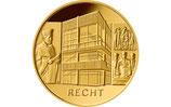 BRD 100 Euro Gold 2021 Recht Satz