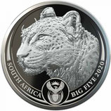 Big Five - Leopard 2020 UN Silber