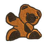 Stickdatei Teddy 1-F-012