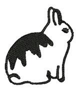 Stickdatei Kaninchen 3-013