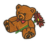 Stickdatei Teddy 1-F-021