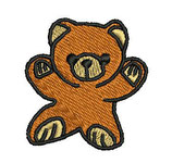 Stickdatei Teddy 1-F-008
