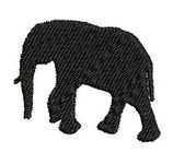 Stickdatei Elefant 3-008