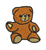 Stickdatei Teddy 1-F-004