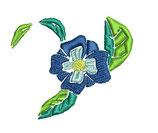 Stickdatei Blume 2-002