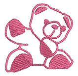 Stickdatei Teddy 1-R-002