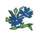 Stickdatei Blume 2-004