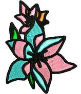 Stickdatei Blume 2-007
