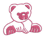 Stickdatei Teddy 1-R-006