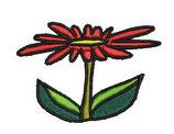 Stickdatei Blume 2-001