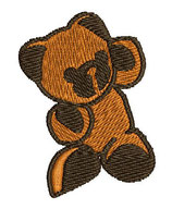 Stickdatei Teddy 1-F-022