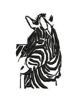 Stickdatei Zebra 3-025