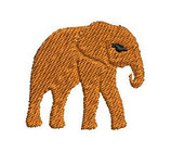 Stickdatei Elefant 3-012