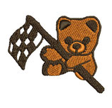 Stickdatei Teddy 1-F-017