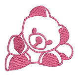 Stickdatei Teddy 1-R-008
