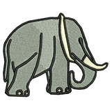 Stickdatei Elefant 3-001