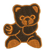 Stickdatei Teddy 1-F-013