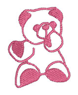 Stickdatei Teddy 1-R-007
