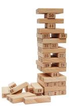 54 nummerierte Holzklötze SG95