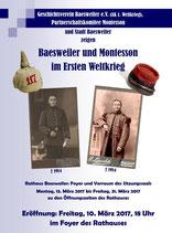 Baesweiler und Montesson im Ersten Weltkrieg