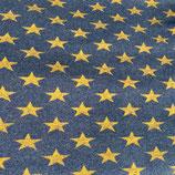 Sterne gelb Strick