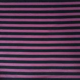 Streifen pink/grau