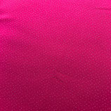 pinker Strick mit Silberpünktli