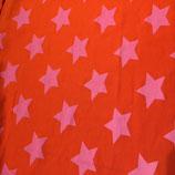 Sterne auf orange