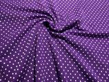 weisse Punkte auf violett