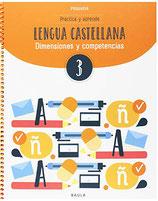 3r. Cuaderno de lengua castellana. Cicle Mitjà de Primària.