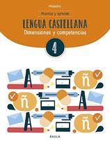 4t. Cuaderno de Lengua castellana. Cicle Mitjà de Primària