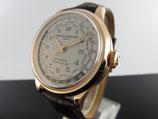 Baume & Mercier Capeland Worldtimer Rotgold MOA10107