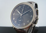 IWC Portugieser Chronograph Automatic mit Dialunette IW371474