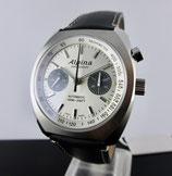 Alpina Startimer Pilot Heritage Chronograph Silber AL-727SS4H6