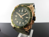 Bell & Ross BR 03-92 DIVER GREEN BRONZE BR0392-D-G-BR/SCA Limited  Edition
