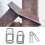 staffa in fusione di alluminio