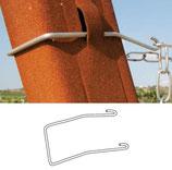 Reggi catenella palo metallo