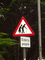 Elderly People crossing...