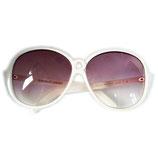 Sonnenbrille Roberta di Camerino Designer weiss VINTAGE