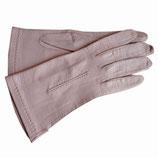 Handschuhe Leder hell zartrosa VINTAGE ungefüttert Gr. S